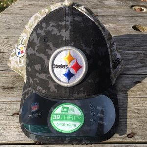NFL STEELERS YOUTH HAT